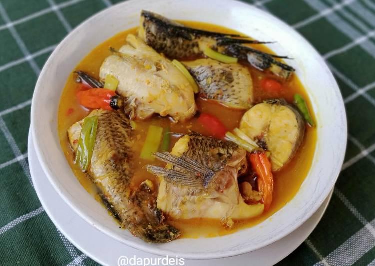 Ikan Gabus Kuah Kuning