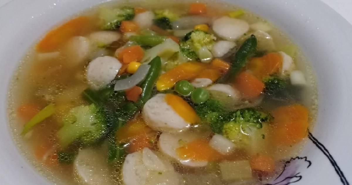 27 Resep Sup Bakso Ikan Brokoli Wortel Enak Dan Sederhana Ala Rumahan Cookpad