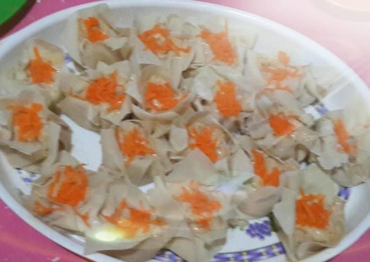 Siomay ayam udang simple n yummy