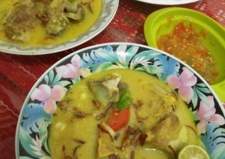 Soto Tangkar atau bisa disebut Soto Daging Bogor