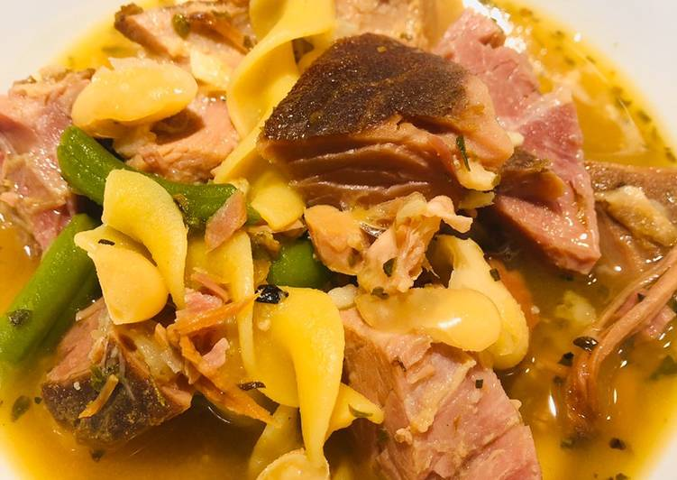 Easiest Way to Cook Tasty Ham ?Soup ?