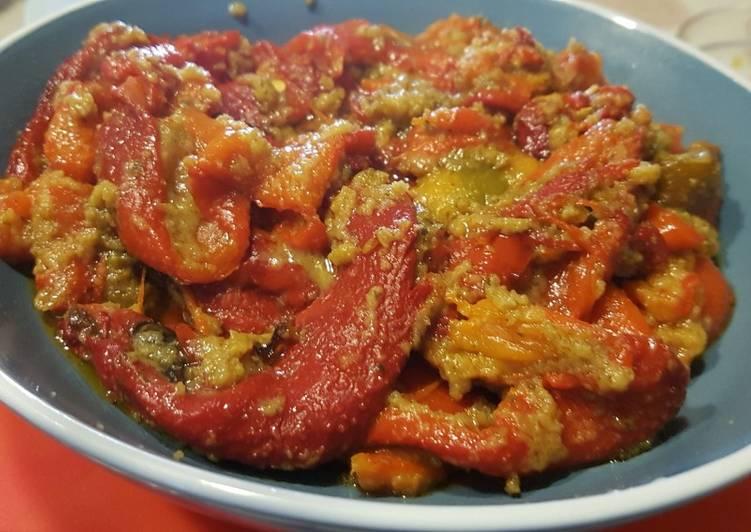 Ricetta Peperoni gratinati al forno