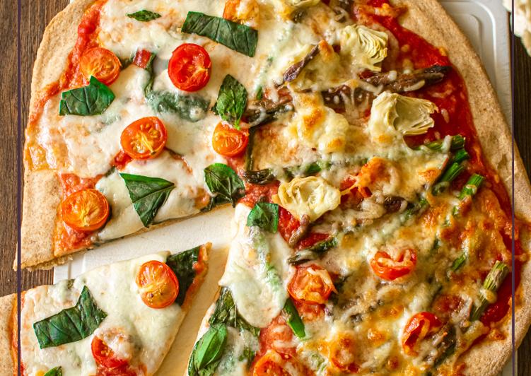 Pizzas casera de 3 tipos (Thermomix)