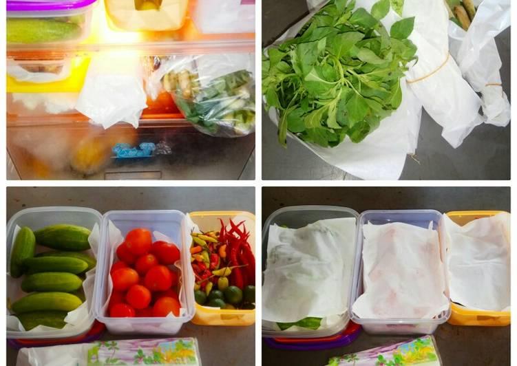 Tips hore Alla mama Anna menyimpan sayur dan bumbu🌶️🍅☘️🌿👍