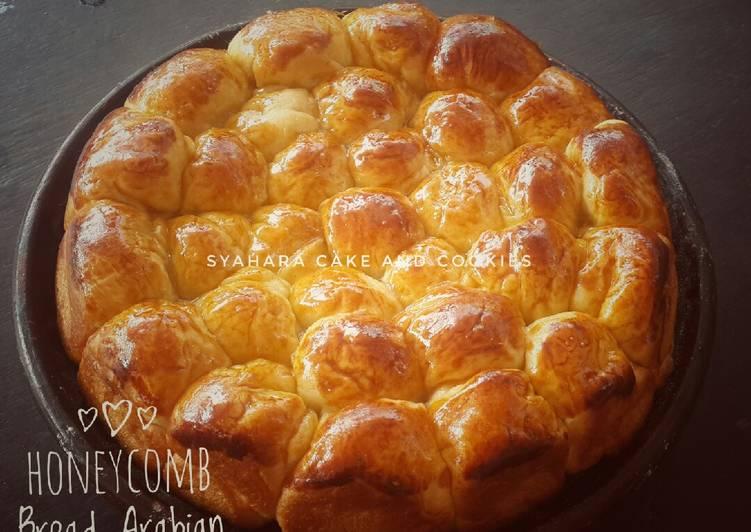 #Honeycomb Bread aka Khaliat Nahl #PekanInspirasi – Resep membuatnya