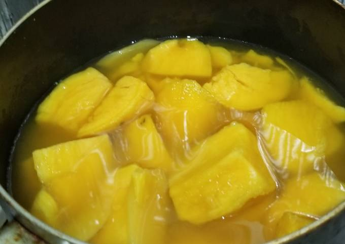 Chinese Sweet Potato Soup ~ Dessert 番薯糖水
