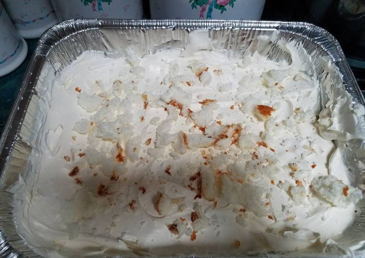 Recipe: Tasty White Chocolate Angel Food Banana Pudding