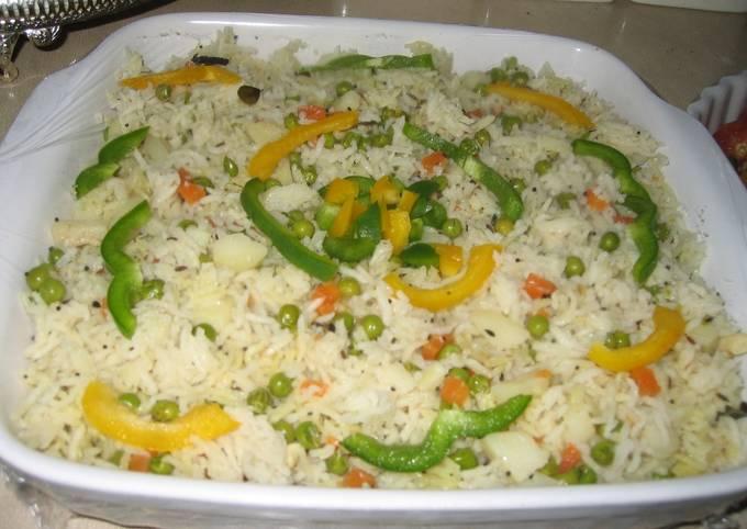 DeliciousIndian Vegetable Rice