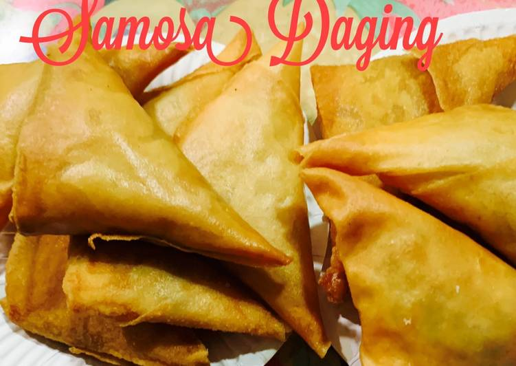 Samosa Daging - resepipouler.com