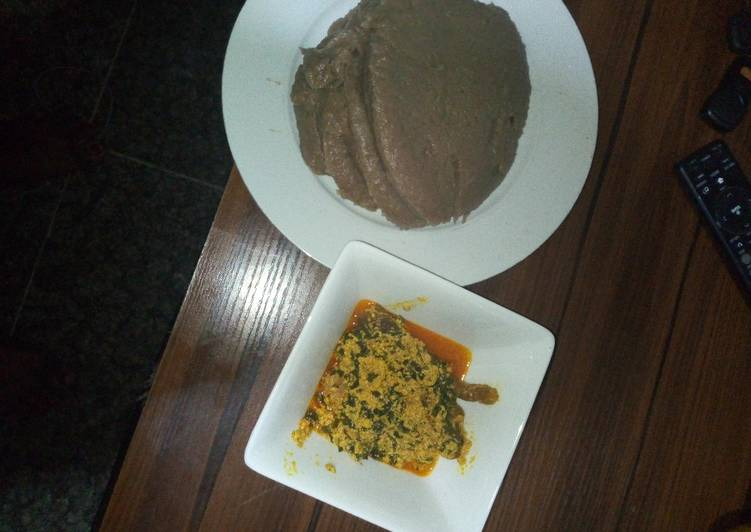 Easy Comfort Dinner Ideas Super Quick Homemade Amala and ewedu soup