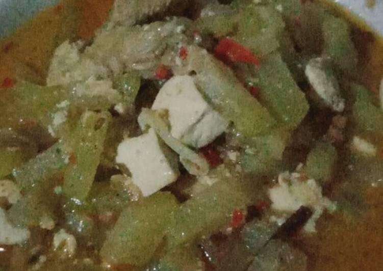 Sambel goreng jipang bumbu rendang