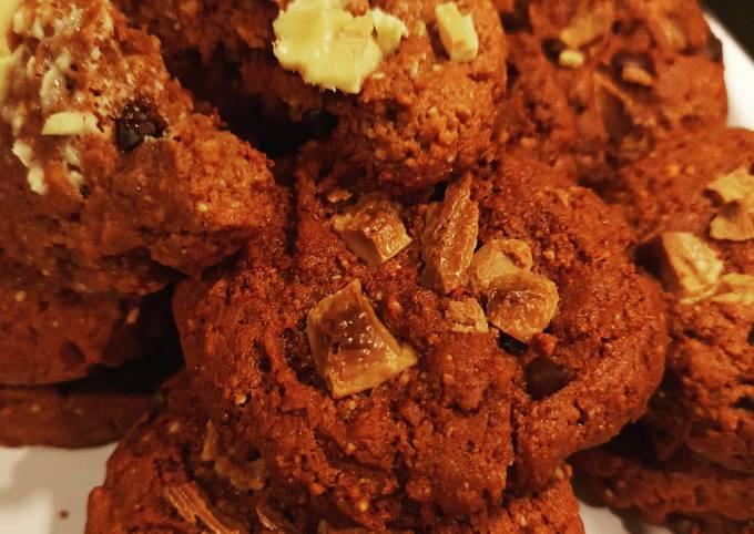 Cookies beurre de cacahuète chocolat blanc 🍫