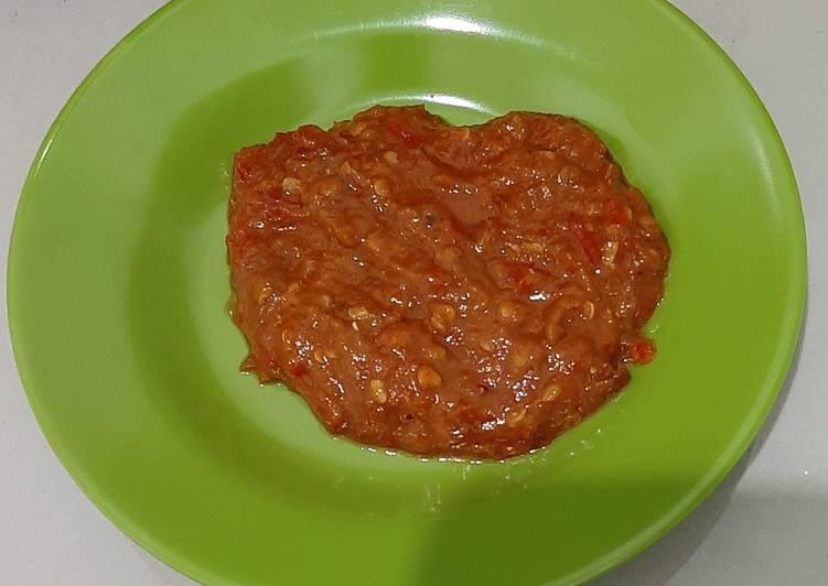 Sambal Tomat Terasi
