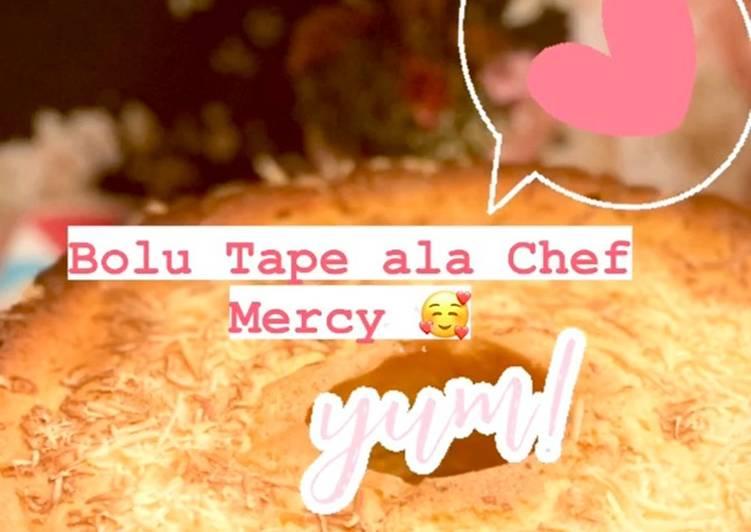Cake Tape ala Mercy - cookandrecipe.com
