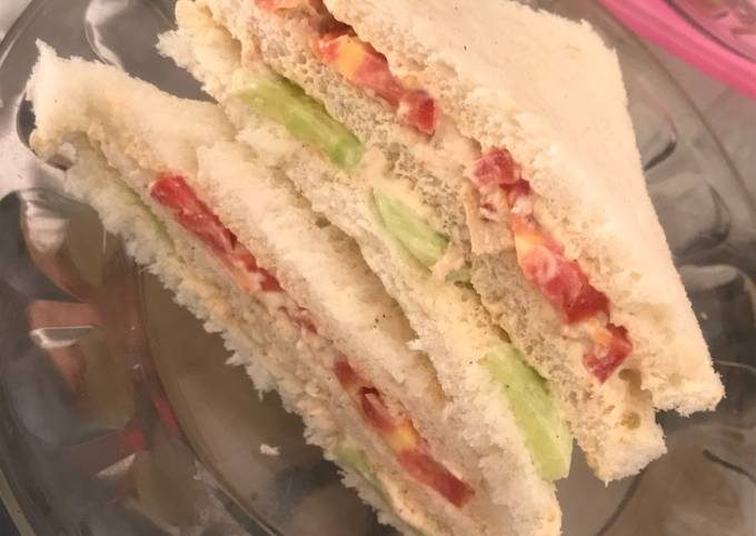 Recipe of Perfect Chicken club sandwich