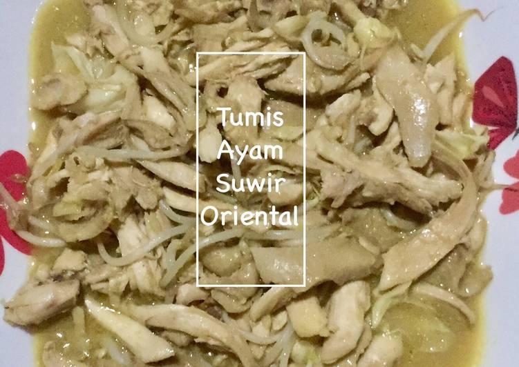 Tumis Ayam Suwir Oriental