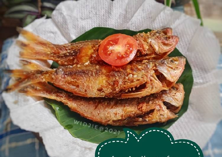 Ikan Biji Nangka Goreng