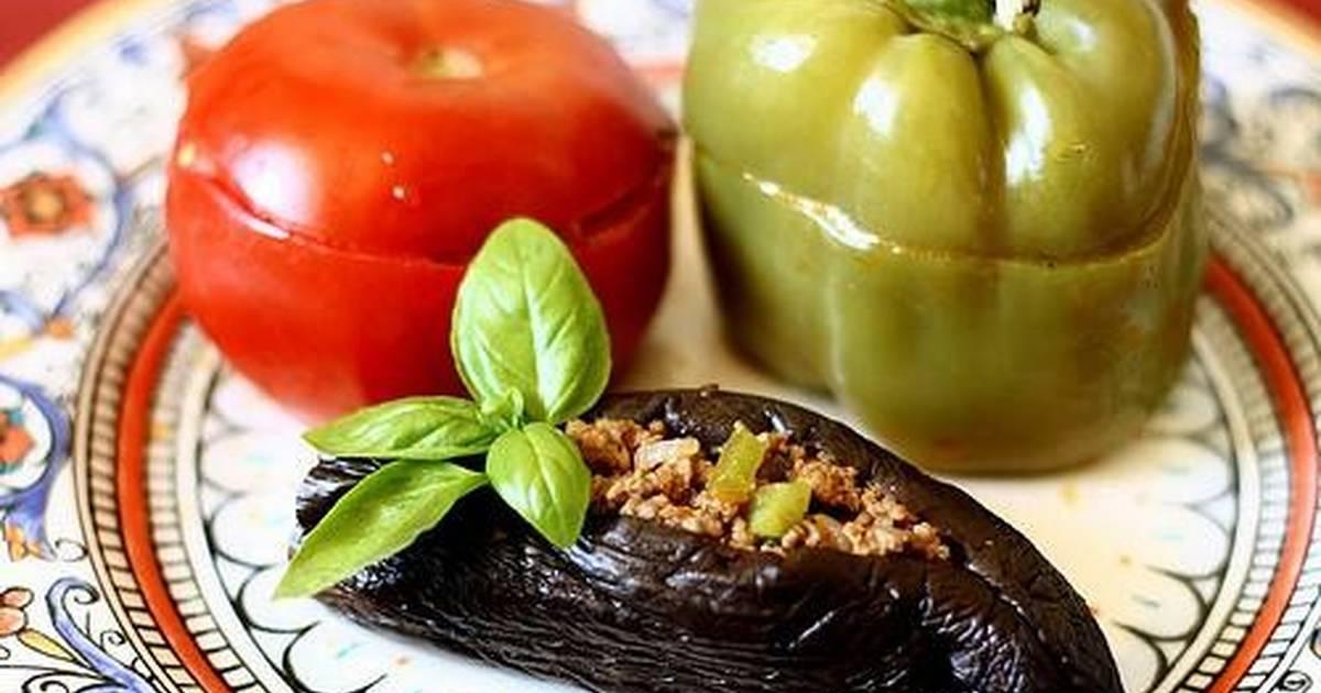 овощная долма по азербайджански рецепт с фото сделаны остовы коней