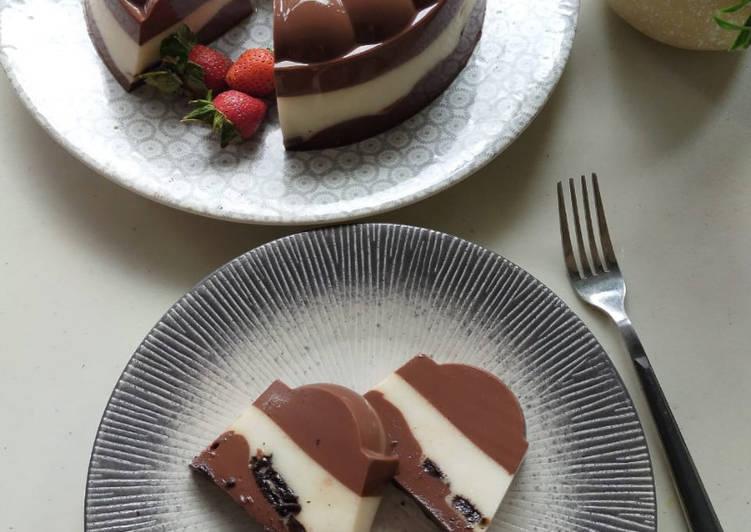Pudding Choco Oreo