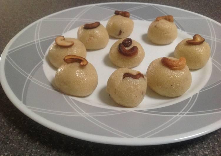 Simple Way to Prepare Favorite Rava Laddoo
