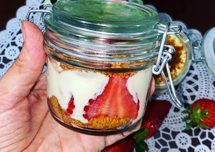 Tiramisu fraise spéculoos