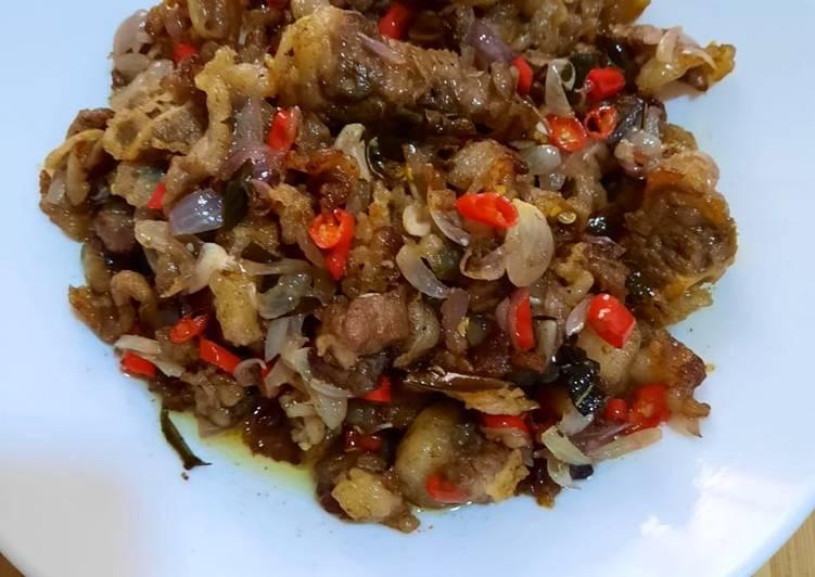 Daging Sapi Slice Sambal Matah