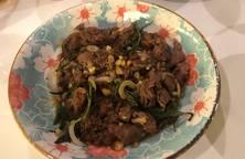Thịt bò sốt BBQ Nhật