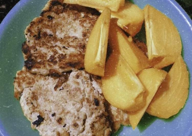 Resep Banana oatmeal pancake dengan kesemek Paling Joss