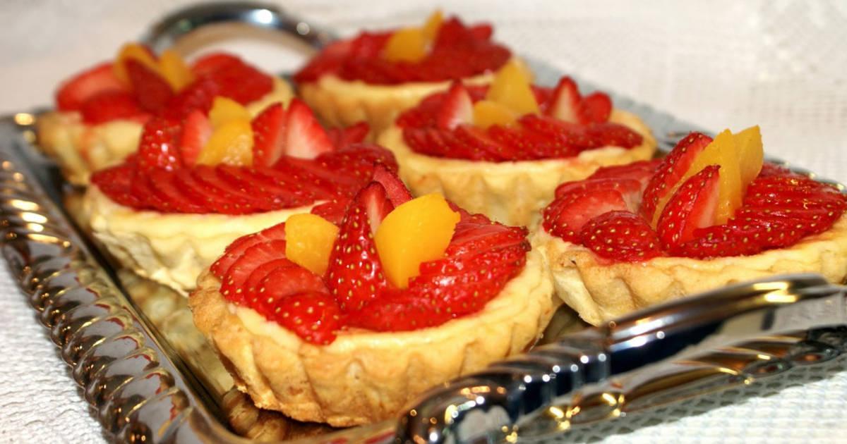 фруктовые пирожные рецепты с фото внешнего сходства них