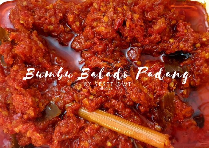 Bumbu Balado ala Warung Padang (bikin nambah!)