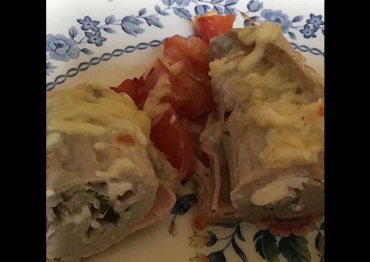 Comment Faire Des Roulades de veau au jambon tomates et mozzarella