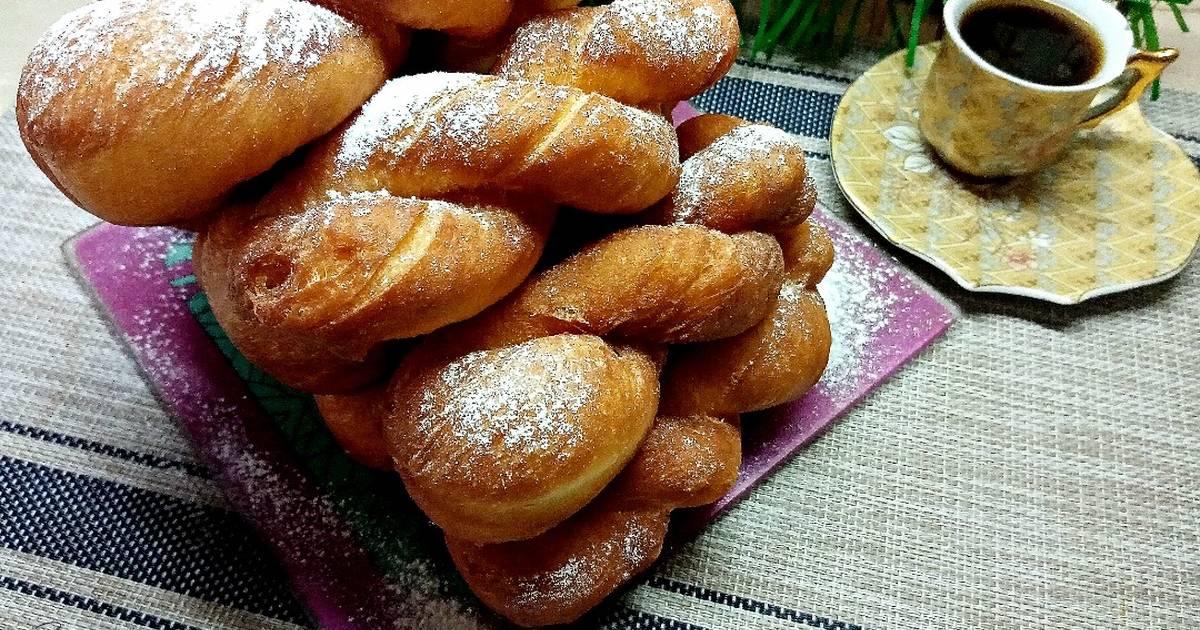 пышные пончики рецепт пошаговый с фото