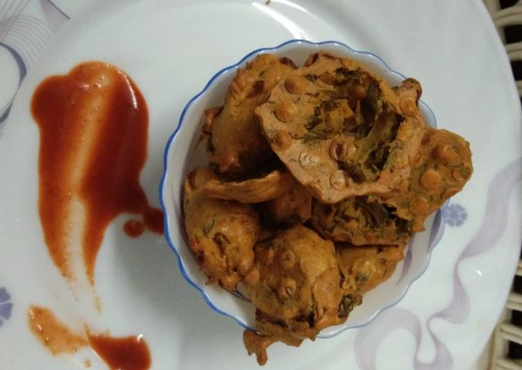 15 Minute How to Make Quick Methi Pakoda with Air Fryer