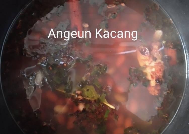 Angeun Kacang Merah Simpel