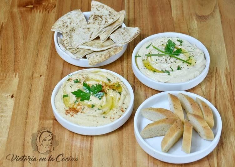 Hummus Tradicional & A mi manera