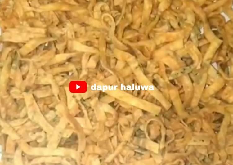 Resep simpel kue bawang renyah