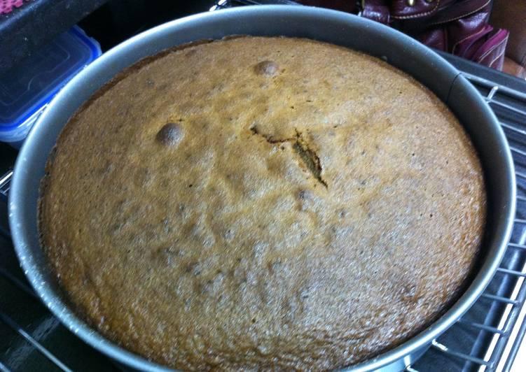 Whole wheat carrot cake