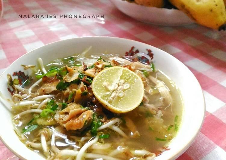 Resep Soto Ayam Semarang Oleh Galuh Nalara Ies D Cookpad