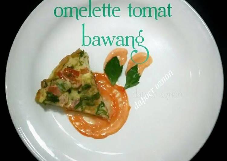 Resep Omelette Tomat Bawang #aop_platingbarengomelette Bikin Jadi Laper