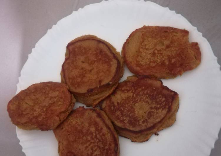 Easiest Way to Make Ultimate Sweet potato pancakes