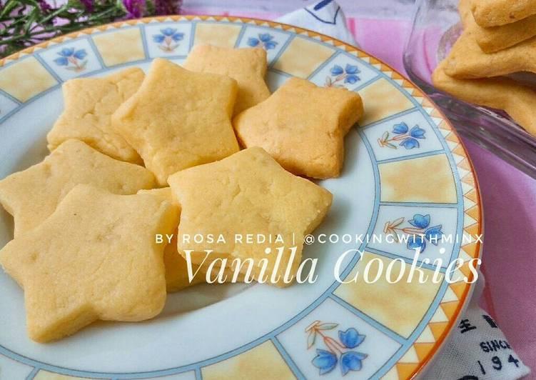 Simple Vanilla Butter Cookies