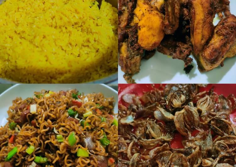 Nasi Kuning lemak