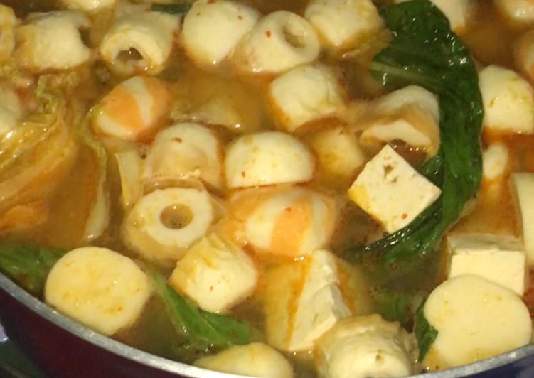 Shabu shabu kuah tom yum