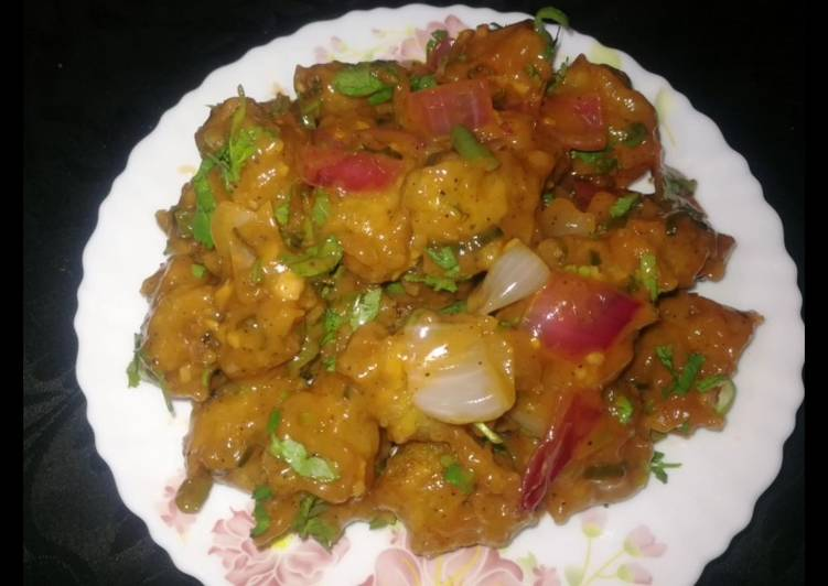New recipe Aloo Manchurian