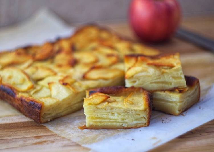 Easiest Way to Make Perfect French Apple Custard Cake
