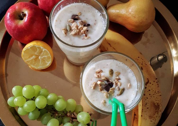 Recipe: Perfect Smoothie Poire & Straciatella