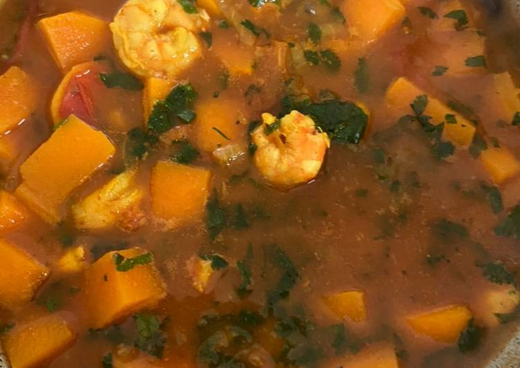 How to Make Most Popular Prawn curry with butternut squash