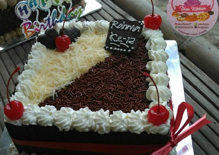 Resep Birthday Cake Kue Ulang Tahun Pr Adakejunya Oleh Dian Rosdiana Lanesa Cookpad