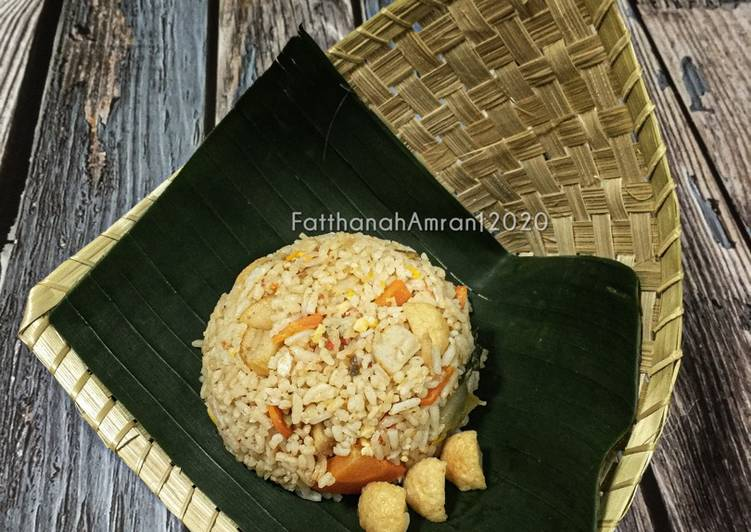 Frozen Seafood Fried Rice