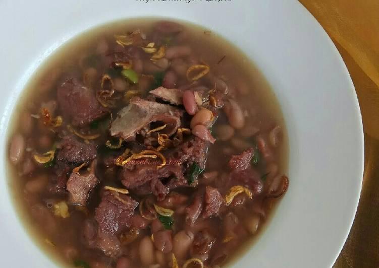 Sup Kacang Merah (dgn Balungan Sapi)
